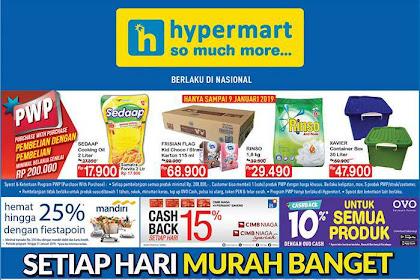 Katalog Promo Hypermart Weekday Terbaru 14 - 17 Januari 2019