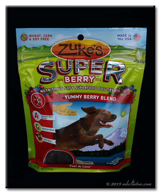 Bag of Zuke's Super Berry Dog Treats