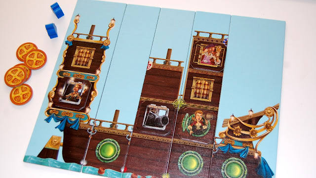 Piratoons board game review small ship