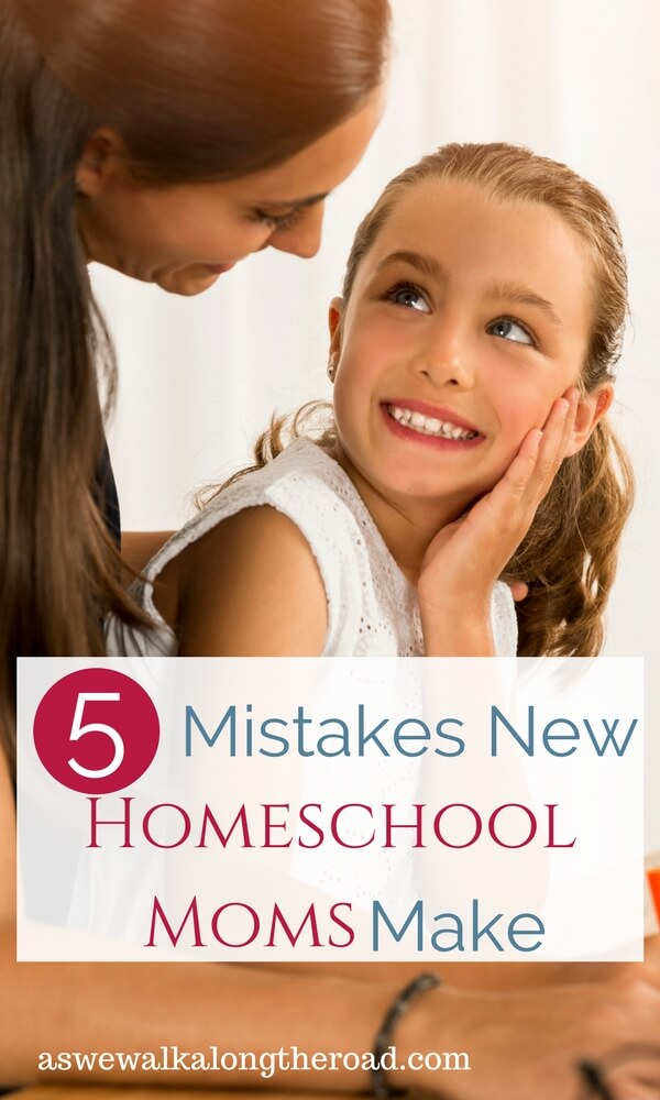 Mistakes new homeschooling moms make
