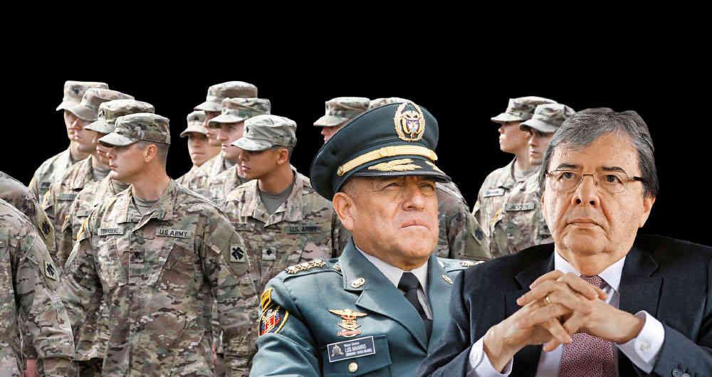 Brigadas estadounidenses deben suspender operaciones militares en territorio colombiano