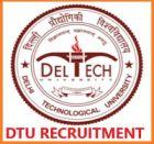 DTU Recruitment 2019 Non-Teaching Staff  Total 35 vacancies