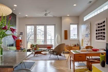 Una buena iluminación mejora la sensación de amplitud en tu salón