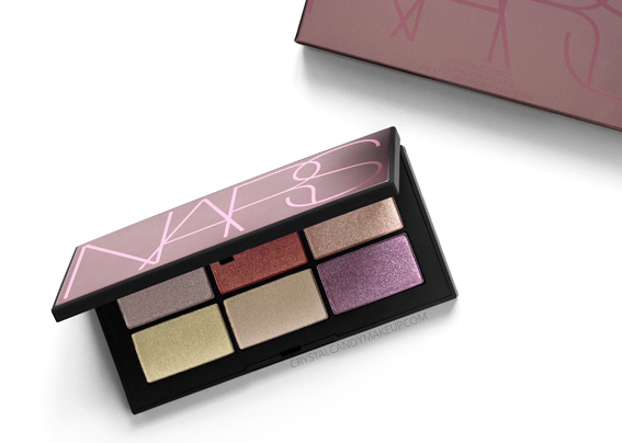 NARS Danger Control Eyeshadow Palette Spring Review