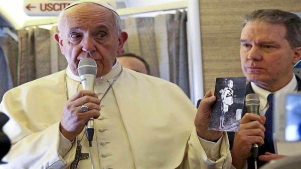 Papa Francisco teme que ocurra una guerra nuclear en el mundo