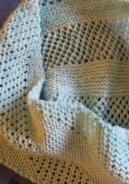 Knit Stitch And Wrap Together : Stitches of Life: knitted wraps + trims