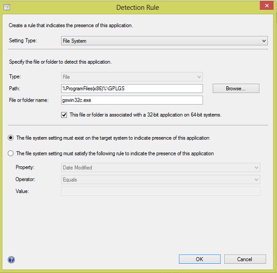 CutePDF Writer and GPL Ghostscript install using the SCCM Software Catalog 1