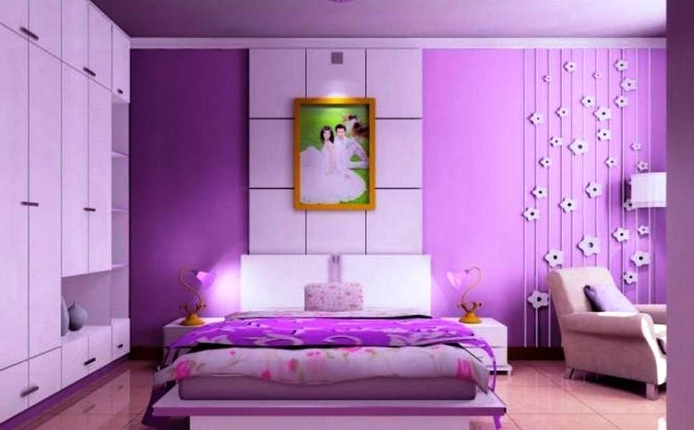 Perpaduan Warna Cat Kamar Tidur Romantis Minimalis