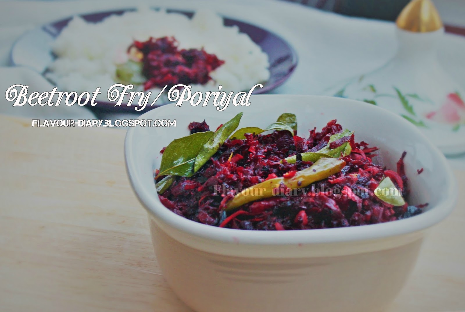 beetroot fry poriyal recipe