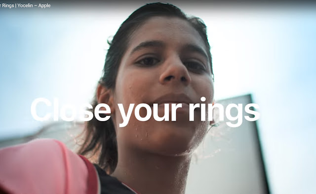 New 'Close Your Rings' Ads for Apple Watch