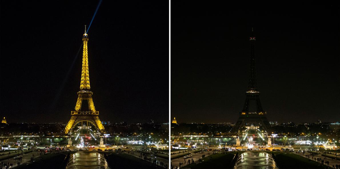 Paris, Pháp Quốc. Hình ảnh: Etienne Laurent, EPA.