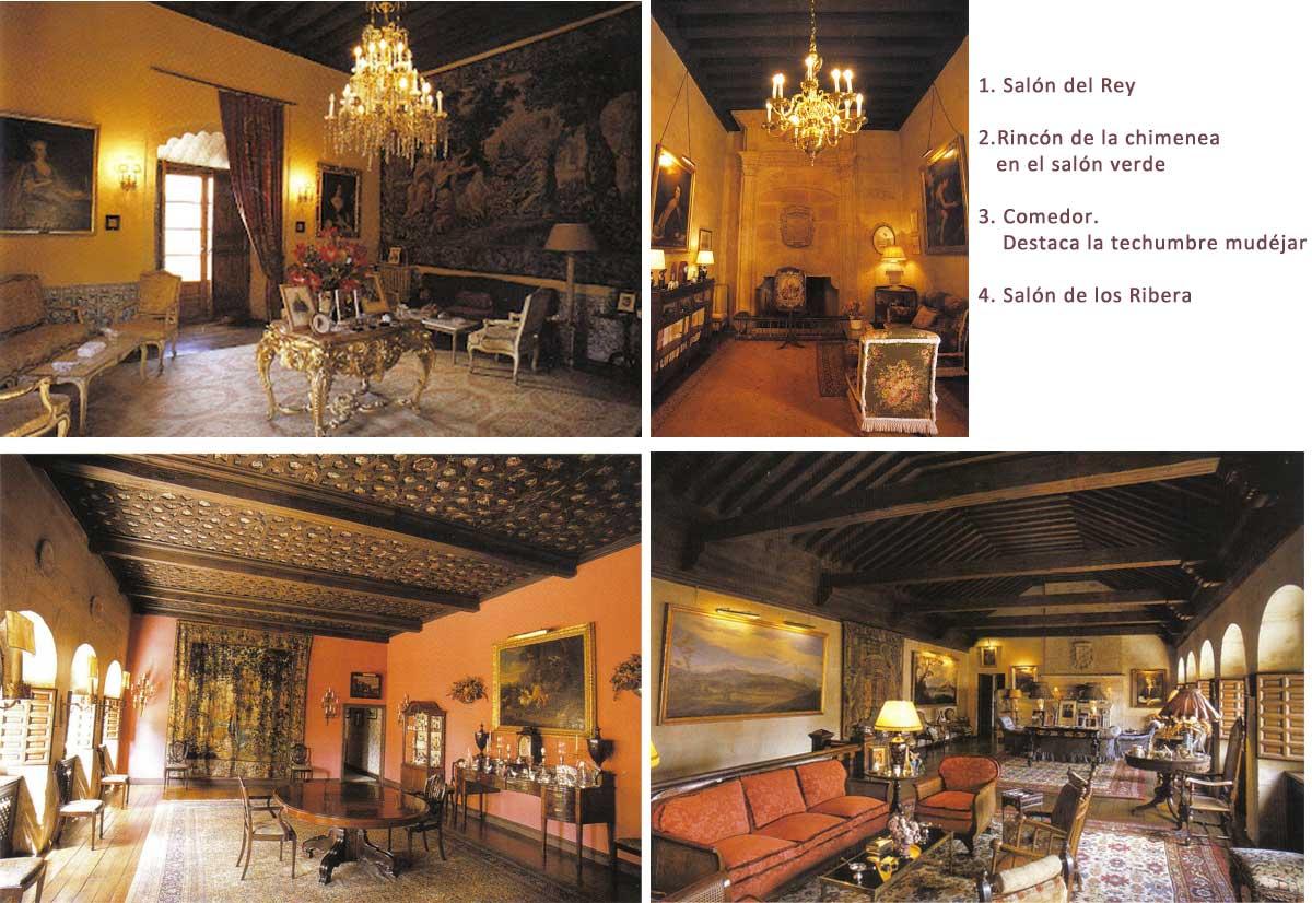 Salamanca tierra m a palacio de monterrey for Estilo arquitectonico que usa adornos con plantas y animales