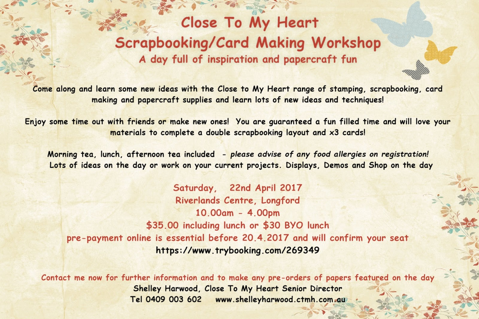 Close To My Heart Card Making Ideas Part - 36: Longford Workshop