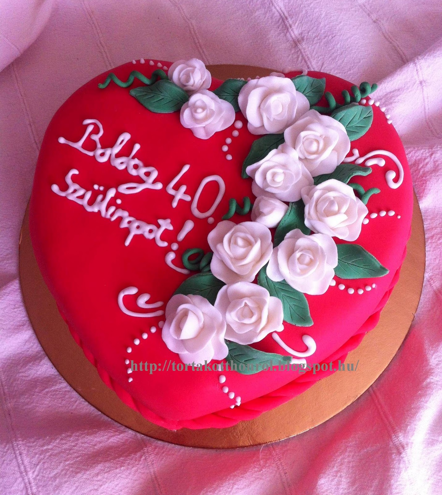 40 szülinapi torta Torták otthonról 40 szülinapi torta