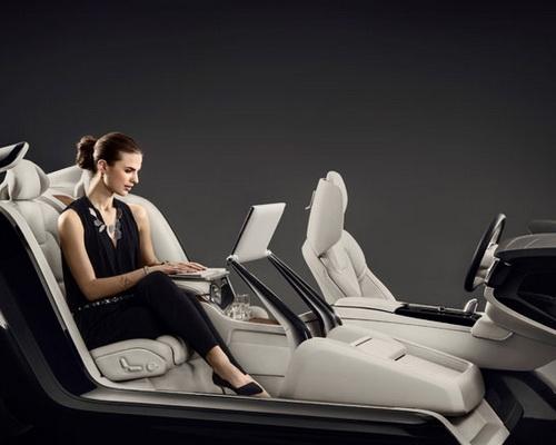 Tinuku.com Multimedia high-tech Volvo S90 change interior design Swedish luxury brand