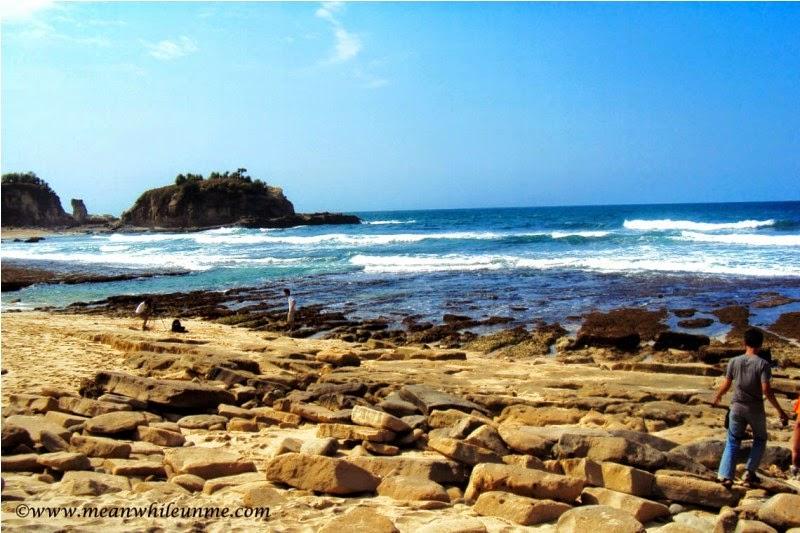 Pantai Klayar Pacitan bersih dan nyaman