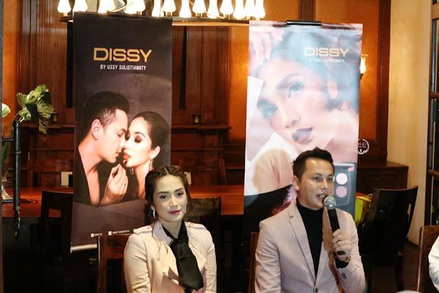 Ussy Andhika di Dissy Reborn Press Release