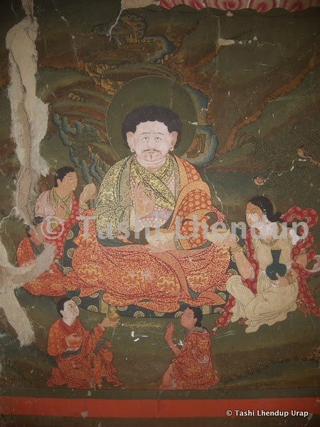 Sumthrang Chojey Ngawang Sonam's arts among now the best murals in the world