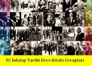 8. Sınıf İnkılap Tarihi Netbil Yayınları Ders Kitabı Cevapları