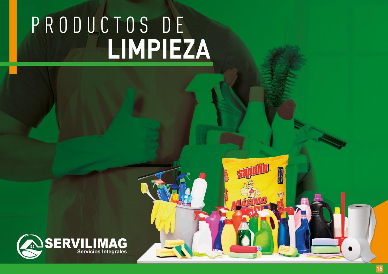 Servilimag servicios integrales venta productos de for Empresas de limpieza en castellon