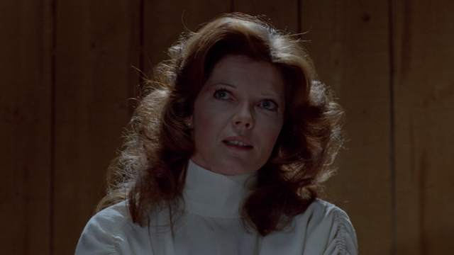 Samantha Eggar as Nola Carveth in THE BROOD (1979).