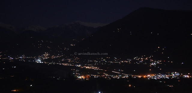 PatliKuhl, kullu, Naggar, Castle, Night View, Pic,