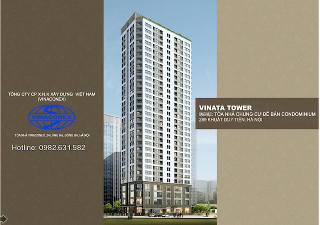Chủ đầu tư chung cư Vinata Tower