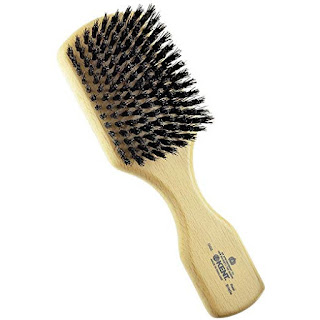 Boar brush for men