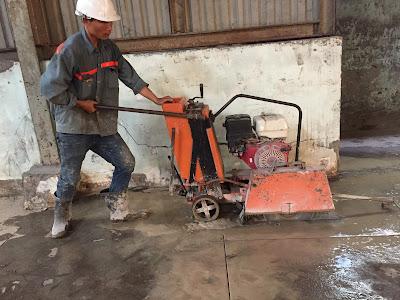 Khoan cắt bê tông tại huyện Mỹ Xuyên
