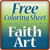 Free coloring sheet for adults and children — Faith Art