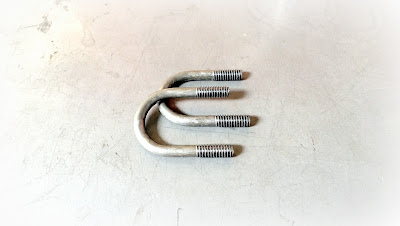 Custom A108 Steel U Bolts - ASTM A108 Material With Rolled 1/4-20 Thread
