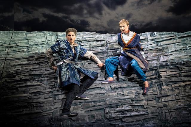 Handel: Radamisto - William Towers, Katie Bray - English Touring Opera (Photo Richard Hubert Smith)