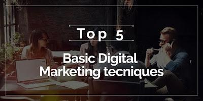 Five vital Digital marketing steps