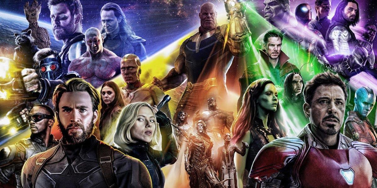 'Avengers: Infinity War' Ensemble Poster