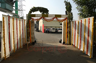 traditional Floral arch entrance for weddings events kerala tamilnadu