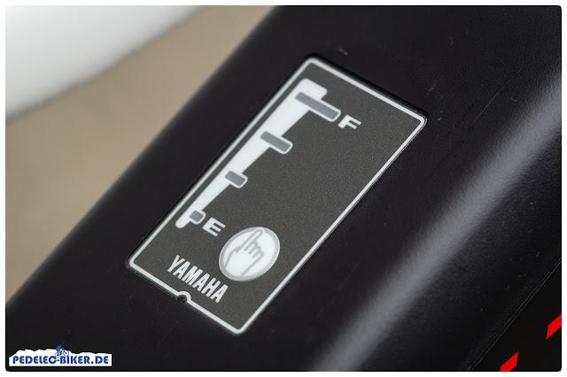 Der 500 Wh Yamaha-Akku am Haibike SDURO Trekking ist in 3,5 Stunden voll aufgeladen.