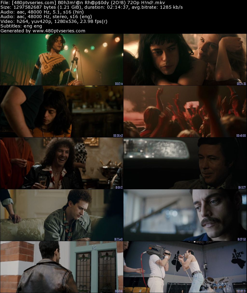Download Bohemian Rhapsody (2018) Full Hindi Dual Audio Movie Download 720p Bluray Free Watch Online Full Movie Download Worldfree4u 9xmovies