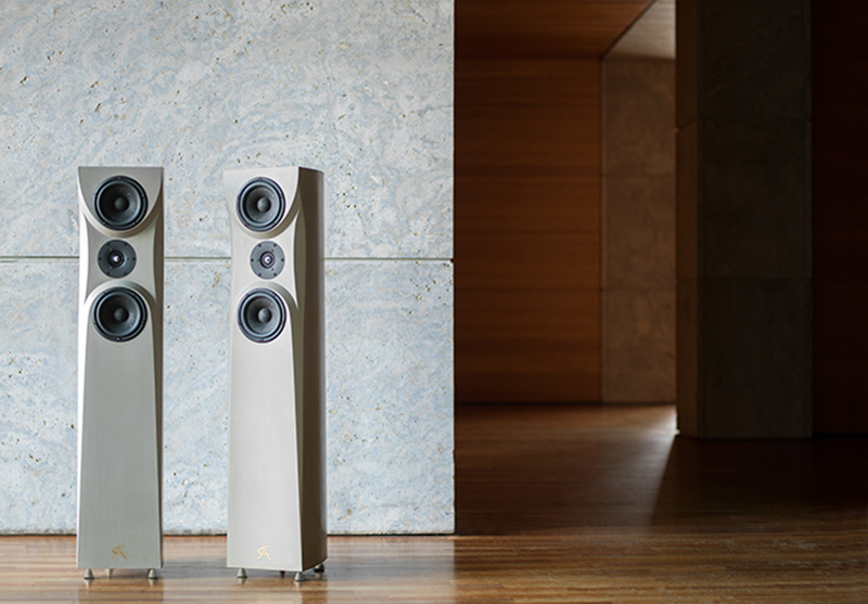 Concrete Audio floor speakers if it's hip, it's here