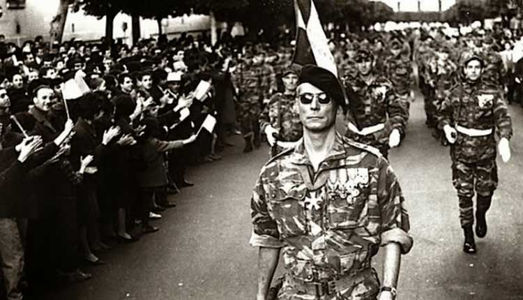 The classic French anti-war film The Battle of Algiers