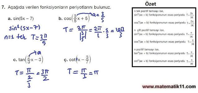 11. Sınıf Matematik Nova Yayınları Ders Kitabı 188. Sayfa İleri Düzey Çözümleri