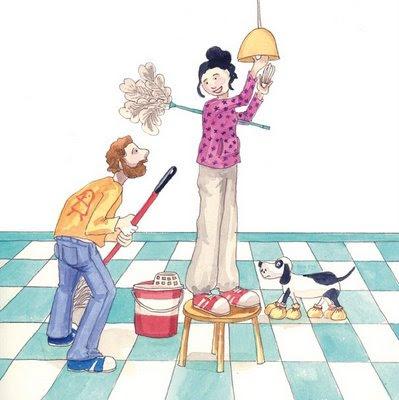 Intervenci n educativa la mujer en la actualidad - Trabajo limpiando casas ...
