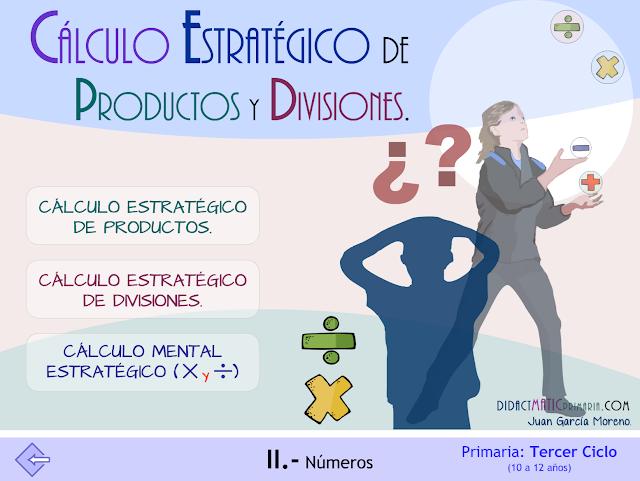 Cálculo estratégico de productos y divisiones.