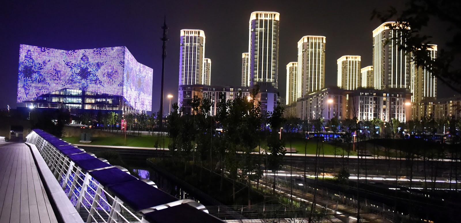 القرية الأولمبية لدورة الألعاب الأولمبية الصيفية للشباب بمدينة نانجينغ، الصين