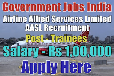 Airline Allied Services Limited AASL Recruitment 2018