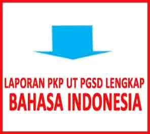 laporan pkp bahasa indonesia ut pgsd