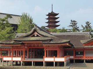 Templo de Miyajima y Pagoda