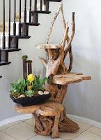 mueble tallado rustico