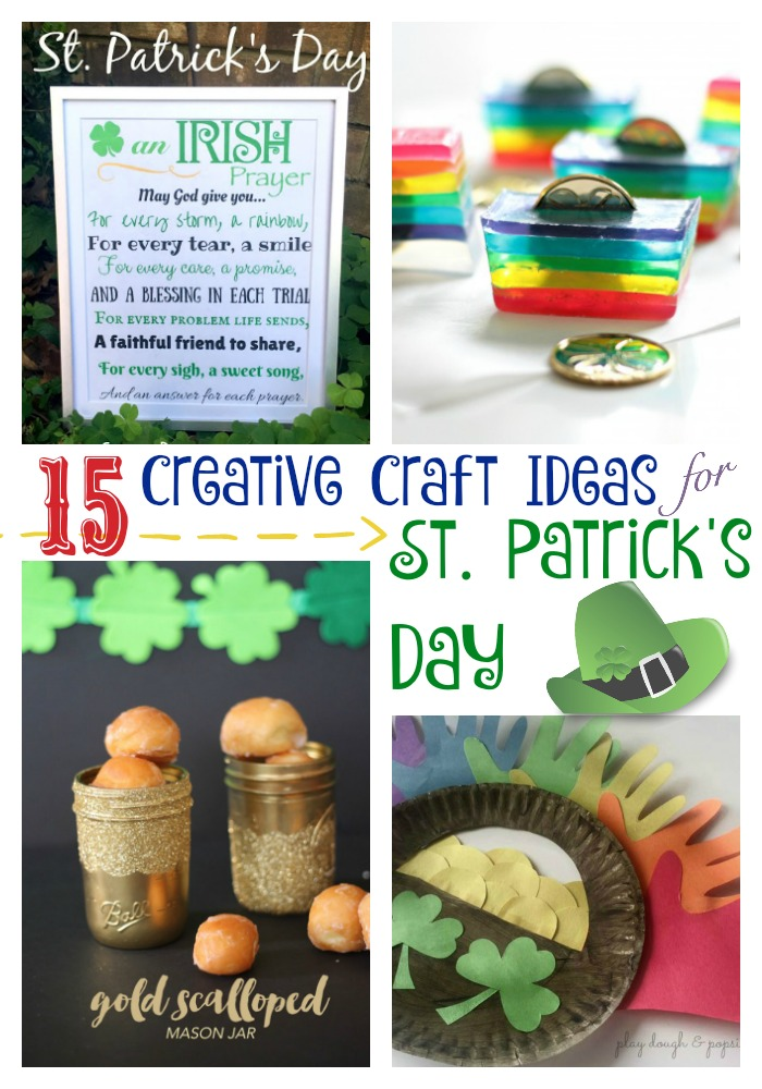 Round up of St Patricks Day Crafts