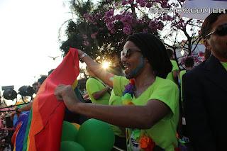 IMG 0031 - 13ª Parada do Orgulho LGBT Contagem reuniu milhares de pessoas